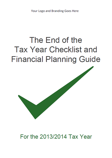 End of the Tax Year Checklist