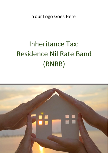 IHT: Residence Nil Rate Band (RNRB)